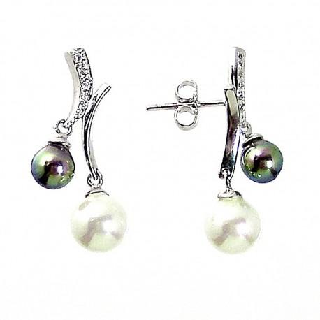 1a6828cb1d7c Pendientes plata Ley 925m perla Majórica  2260
