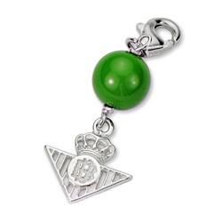 Chamrs escudo Real Betis plata de ley bola verde [8637]