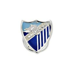 Pin escudo Málaga CF plata de ley esmalte [8675]