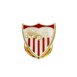 Pin escudo Sevilla FC oro de ley 9k 16mm. esmaltado [8694]