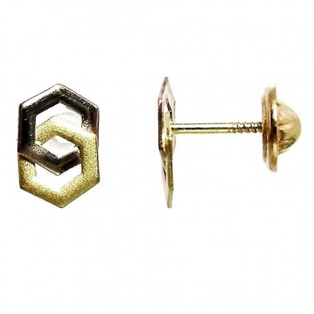 Pendientes oro tornillo [408]