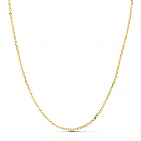 Cadena oro 18k maciza forzada 60 cm. 1.7 mm. 5.60 grs. [9502]