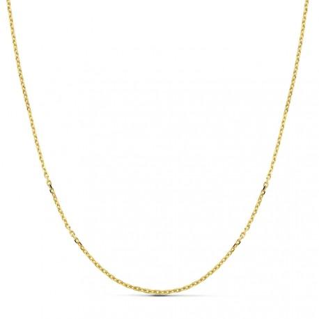 Cadena oro 18k forzada 45 cm hueca 1,50 mm. 2,30 gr [9666]