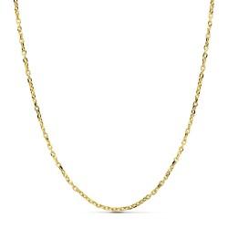 Cadena oro 18k forzada 50 cm hueca 2 mm. 3,80 gr [9669]