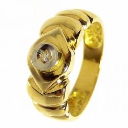 T14,5 Sortija oro brillante [202]