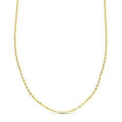 Cadena oro 18k forzada 40cm. [AA2684]