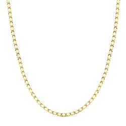 Cadena oro 18k forzada hueca 50cm. 2,9gr.  [AB3370]
