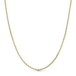 Cadena oro 18k forzada hueca 50cm. 1,9gr.  [AB3431]