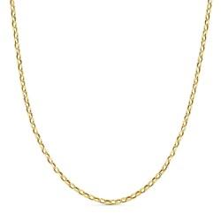 Cadena oro 18k forzada hueca 60cm. 3,10gr.  [AB3436]
