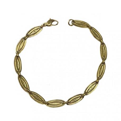 Pulsera cadena oro [55]
