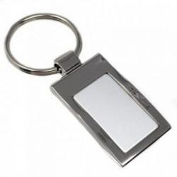 Llavero acero 45mm. rectangular [AB5551]