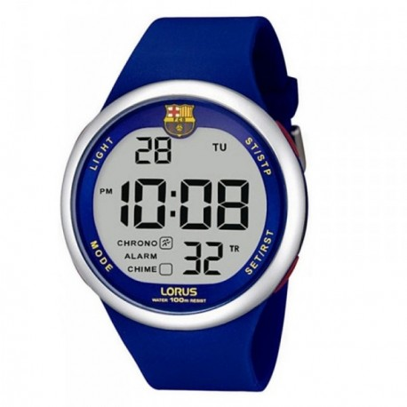 Reloj F.C. Barcelona Lorus hombre azul digital R2331HX9 [AB5878]