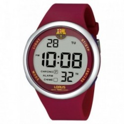 Reloj F.C. Barcelona Lorus hombre rojo digital R2333HX10 [AB5879]