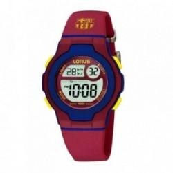 Reloj F.C. Barcelona Lorus niño azul rojo digital R2337HX9 [AB5880]
