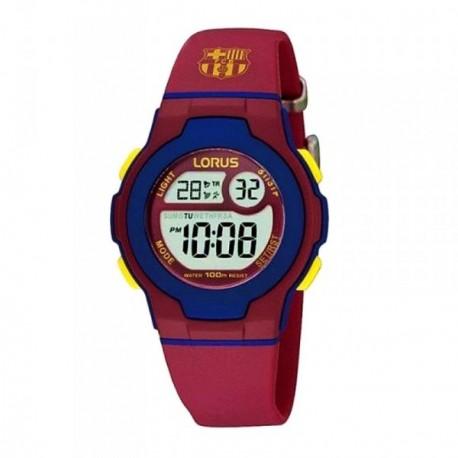 Reloj F.C. Barcelona Lorus niño azul rojo digital R2337HX9  AB5880  f7957092a8d