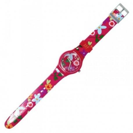 Reloj Agatha Ruiz de la Prada jardín fucsia AGR203 [AB5805]