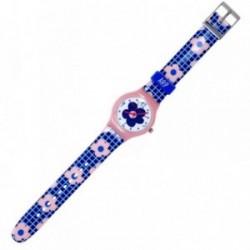 Reloj Agatha Ruiz de la Prada cuadros y flores AGR211 [AB5813]