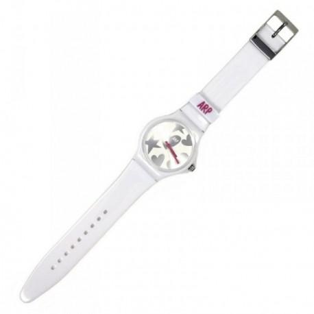 Reloj Agatha Ruiz de la Prada blanco plateado AGR216P [AB5818]