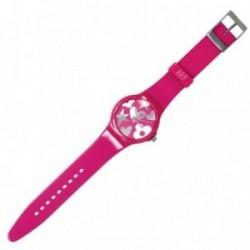 Reloj Agatha Ruiz de la Prada fucsia plateado AGR217P [AB5819]