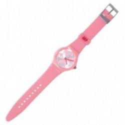 Reloj Agatha Ruiz de la Prada rosa plateado AGR218P [AB5820]