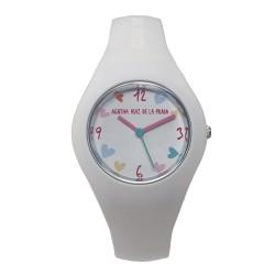 Reloj Agatha Ruiz de la Prada niña blanco AGR227 [AB5829]