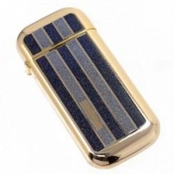 Mechero metálico recargable gas piedra 5.2cm. dorado [AB5841]