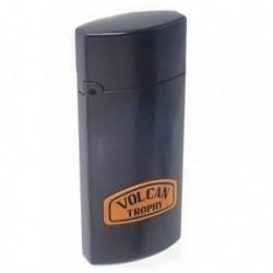 Mechero metálico recargable gasolina piedra 6.5cm. gris [AB5869]