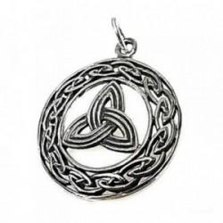 Colgante plata Ley 925m símbolo celta 25mm. [AB5274]