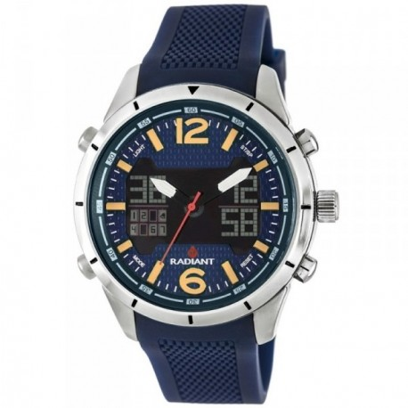 Reloj Radiant hombre New Pitlane RA457603 azul [AB6227]