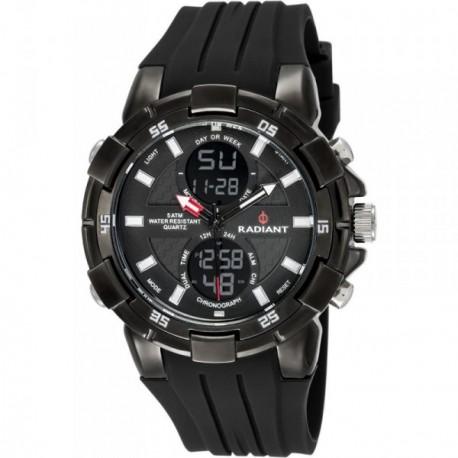 Reloj Radiant hombre New Powertime RA458602 negro [AB6228]
