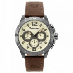 Reloj hombre Timberland Harriston Brown Beige 15356JSU-07 [AB6260]