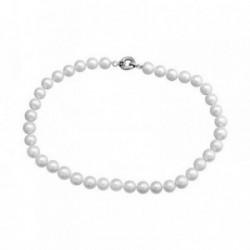 Pulsera plata Ley 925m perlas cultivadas 11-12mm. [AB6899]