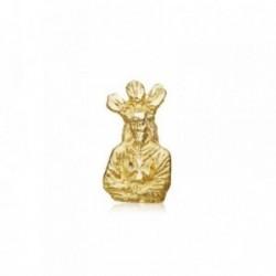 Medalla oro 18k Cristo Cautivo 13mm. silueta [AB8732]