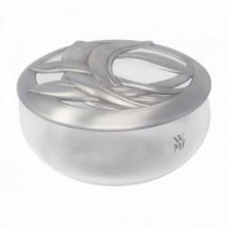 Caja de cristal WMF soplado a boca tapa estaño [AB5954]