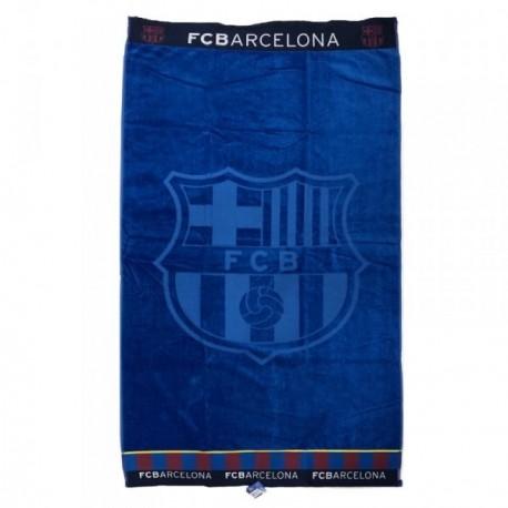 Toalla F.C. Barcelona algodón 160x85cm azul [AB9150]