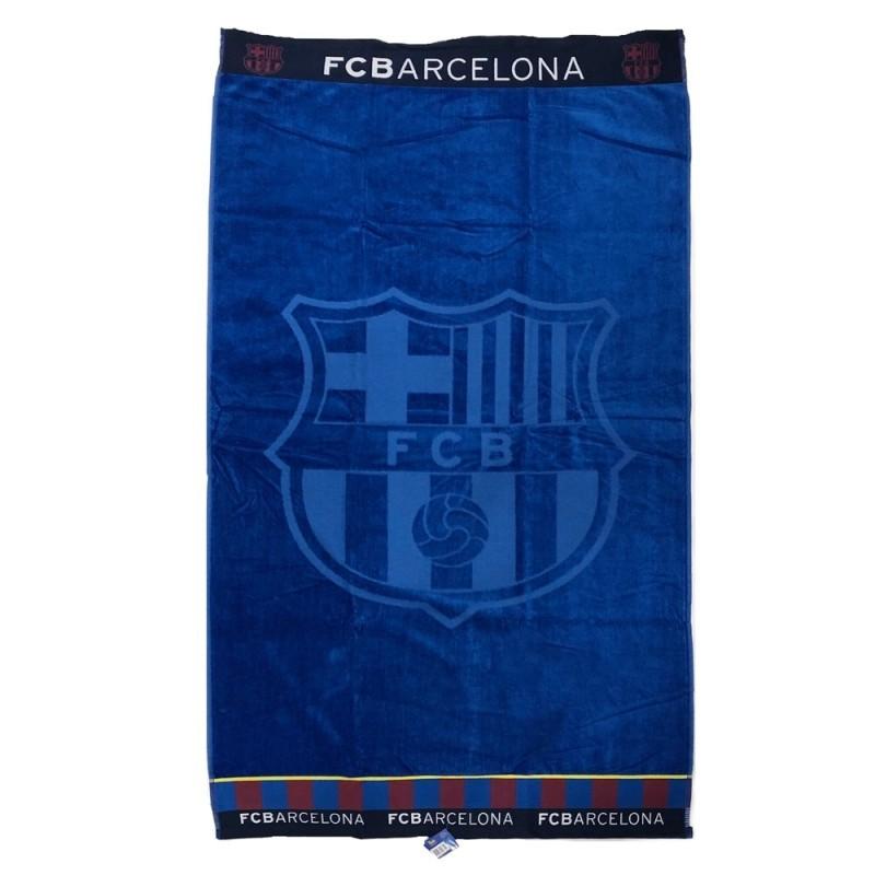 Toalla F.C. Barcelona algodón 160x85cm azul  AB9150  d22f56dc42d