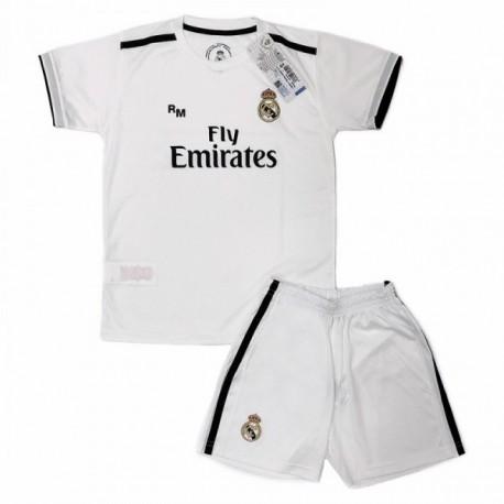 Uniforme Real Madrid 2018 - 2019 réplica oficial junior primera equipación