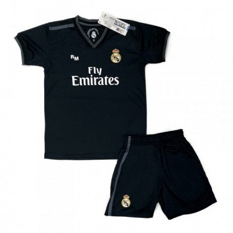 Uniforme Real Madrid 2018-19 réplica oficial junior segunda [AB9181]