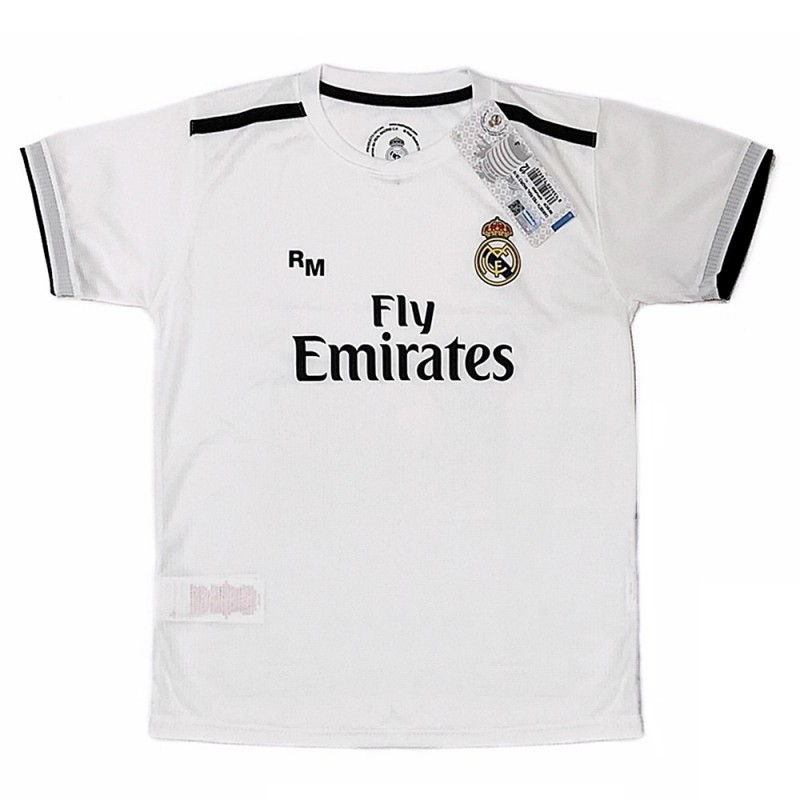 2c4751efdceec Camiseta Real Madrid 2018-19 réplica oficial junior primera equipación