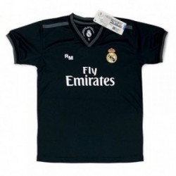 Camiseta Real Madrid 2018-19 réplica oficial junior segunda [AB9185]