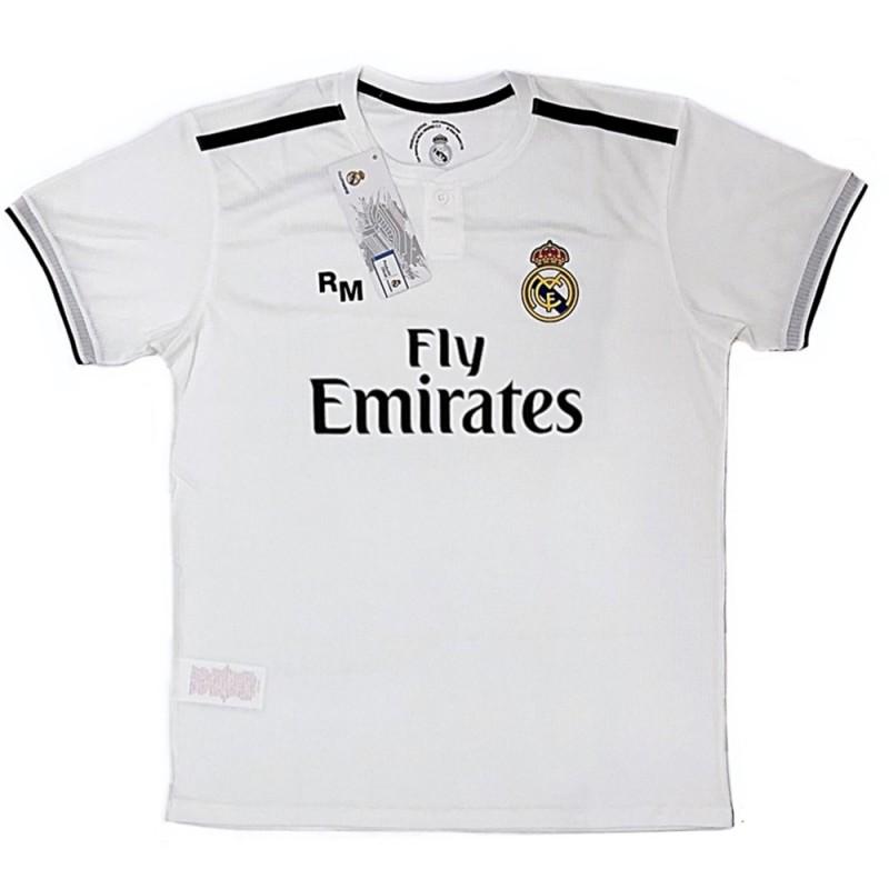 5da3fae2c Camiseta Real Madrid 2018-19 réplica oficial adulto primera  AB9188