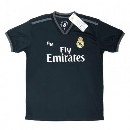 Camiseta Real Madrid 2018-19 réplica oficial adulto segunda [AB9189]
