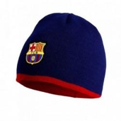 Gorro F.C Barcelona niño reversible azul rojo escudo [AB9314]