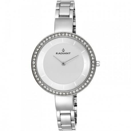 Reloj Radiant mujer Tiffany´s All Silver Stones RA460201 [AB9310]