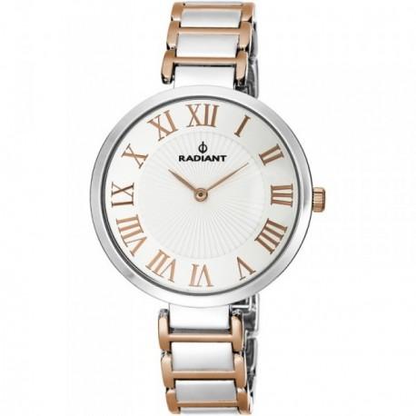 Reloj Radiant mujer Ballroom Silver Bicolor RA461202 [AB9312]