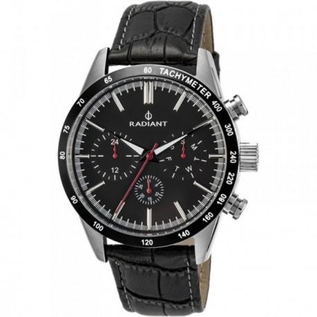 Reloj Radiant hombre Empire Steel Black-Croko RA411604 [AB9299]