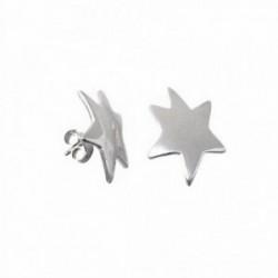 Pendientes plata Ley 925m estrella Agatha Ruiz de la Prada  [AB9103]
