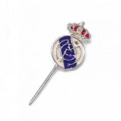Pin aguja plata Ley 925m Real Madrid esmaltado [AB5906]