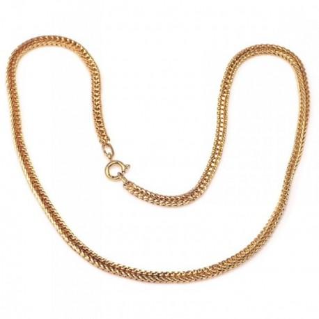 Cadena metal chapada 40cm. espiga dorada  [AB5179]