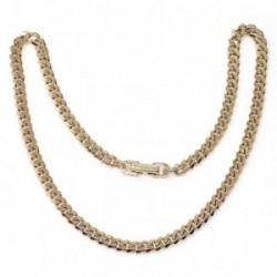 Cadena metal chapada 40cm. barbada  [AB5508]